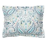 Gemma Paisley Organic Cotton Sham, Standard, Multicolor