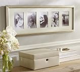 Eliza Gilt Multiple Opening Picture Frame, Champagne Gilt finish