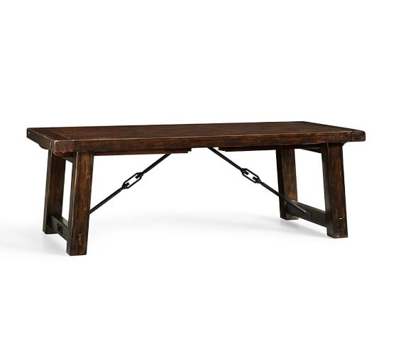 Benchwright Extending Dining Table Pottery Barn : img39c from www.potterybarn.com size 558 x 501 jpeg 12kB