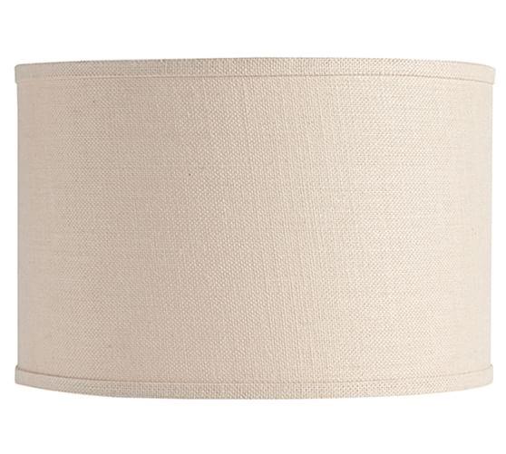 lighting shades accessories lamp shades burlap drum lamp shade. Black Bedroom Furniture Sets. Home Design Ideas