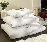 PB Essential Cozy Dog Bed Cover, Small, Ivory