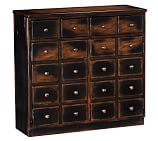 Andover Cabinet, Weathered Walnut stain