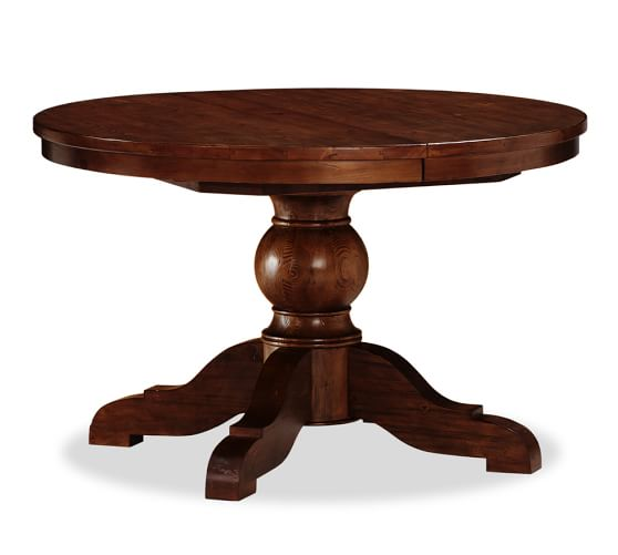 Sumner Extending Pedestal Dining Table, 48