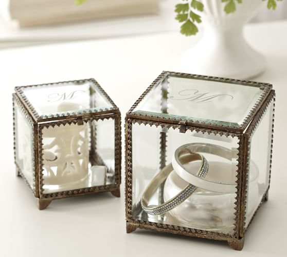 Elaine Glass Display Box, Small
