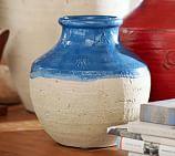 Lakeside Small Vase, Blue