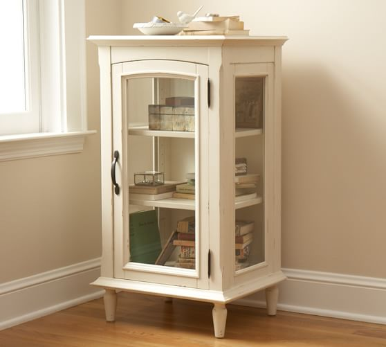 Sadie Bedside Table, French White