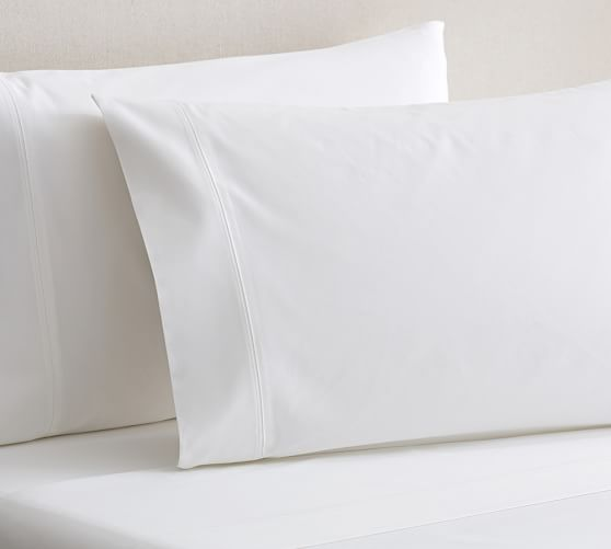 700-Thread-Count Sheet Set, Full, White