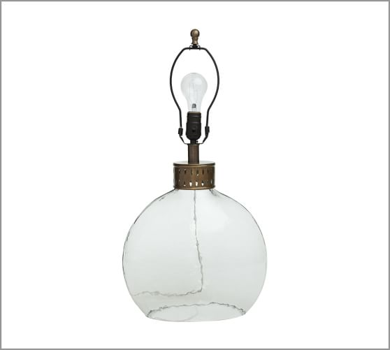 Julian Glass Lamp