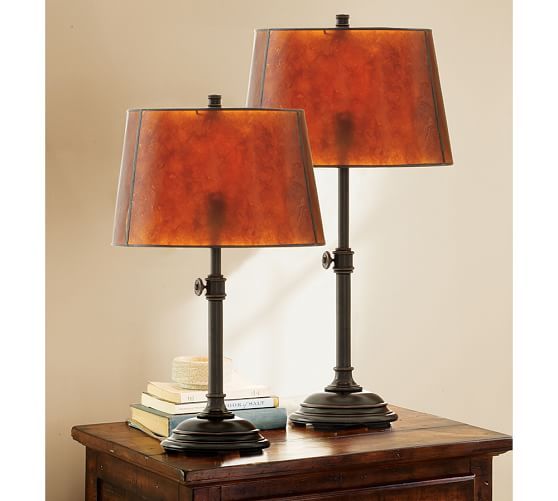 Mica Tapered Drum Lamp Shade Pottery Barn