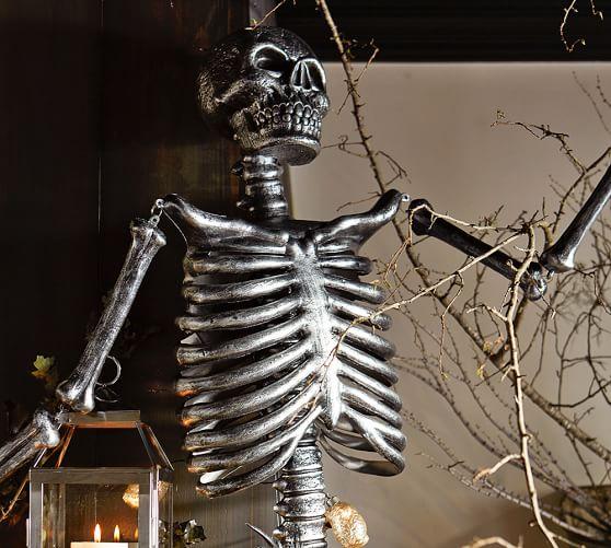 Outdoor Mr Bones Silver Pottery Barn
