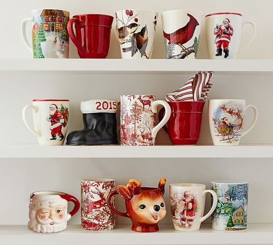 Cheeky Reindeer Figural Mug Benefiting Give A Little