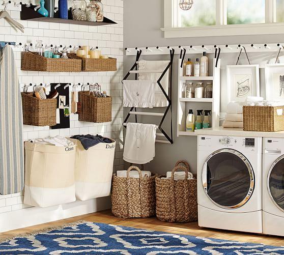 Gabrielle laundry set pottery barn - Ikea rangement cellier ...