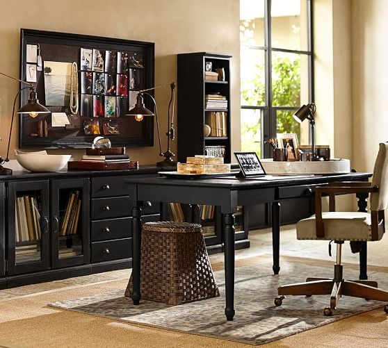 Printers Writing Desk - Large  Pottery Barn