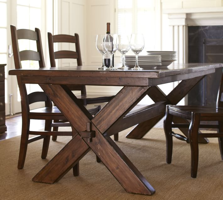 barn kitchen table  toscana fixed dining table o