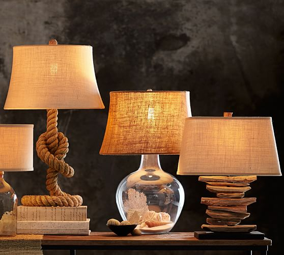 Rope Table Lamp Base Pottery Barn