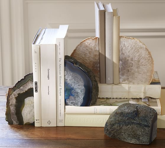 Http Www Potterybarn Com Products Agate Book Ends