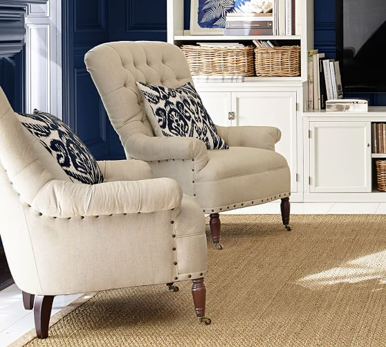 Radcliffe Tufted Upholstered Armchair