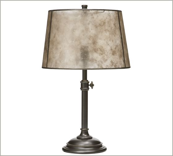 mica tapered drum lamp shade pottery barn. Black Bedroom Furniture Sets. Home Design Ideas