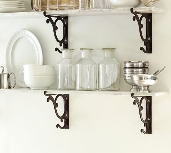 Marble Shelf Pottery Barn