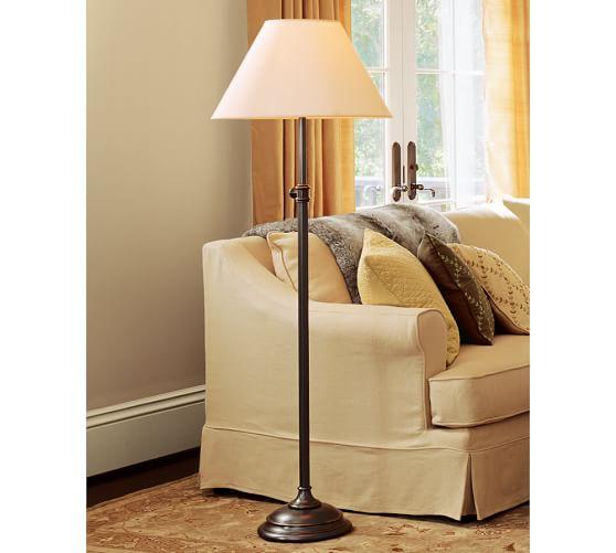 Pottery Barn Harper Lamp Shade: PB Basic Linen Lamp Shade