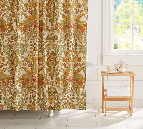Cassandra Floral Shower Curtain