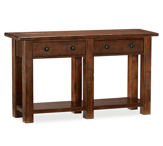 Pottery Barn Consoles: Benchwright Console Table