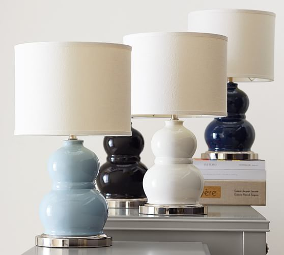 Pottery Barn Montclair Lamp: Alexis Mini Bedside Lamp