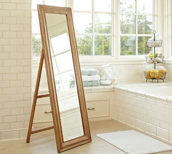 Pottery barn piper floor mirror