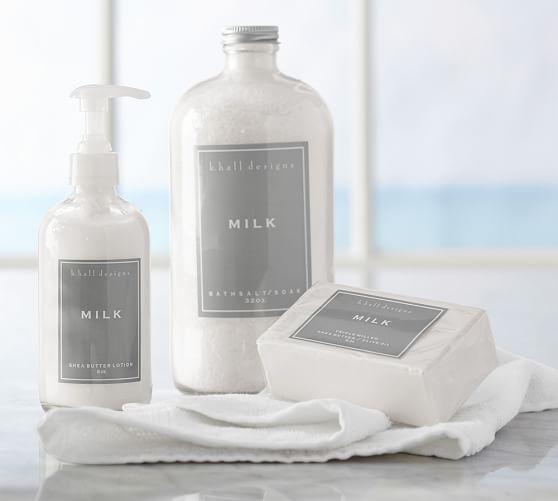 K Hall Designs Soaps Milk Pottery Barn