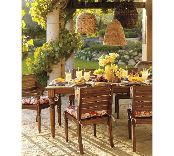 Grove Wicker Indoor Outdoor Pendant Lights Set Of 3