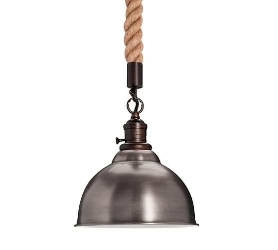 Pb Classic Pendant Rope Kit Pottery Barn