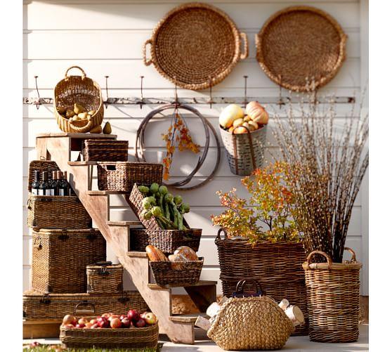Pottery Barn Furniture Return Policy: Chelsea Hamper Basket