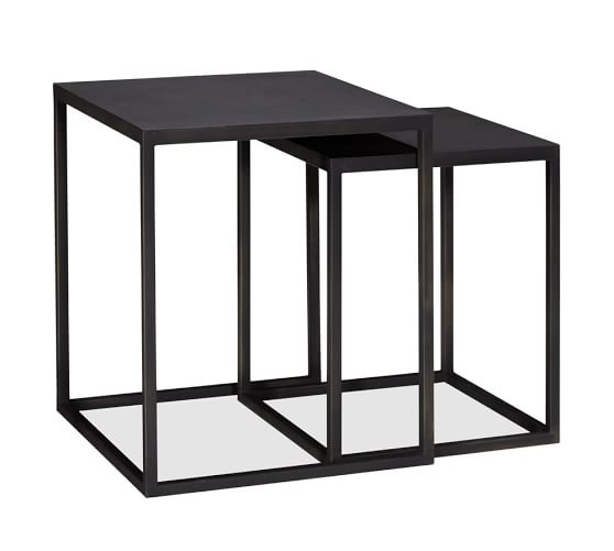 Why Adding A Rug Under Dining Table Sets Is A Must: Burke Nesting Side Tables, Set Of 2