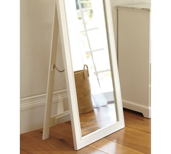 Classic floor mirror pottery barn for Classic mirror