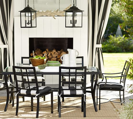 Pottery Barn Outdoor Pendant Lighting: Classic Indoor/Outdoor Pendant