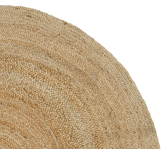 round jute rug  natural  pottery barn, 3 ft round area rugs, 3 ft round braided rug, 3 ft round jute rug