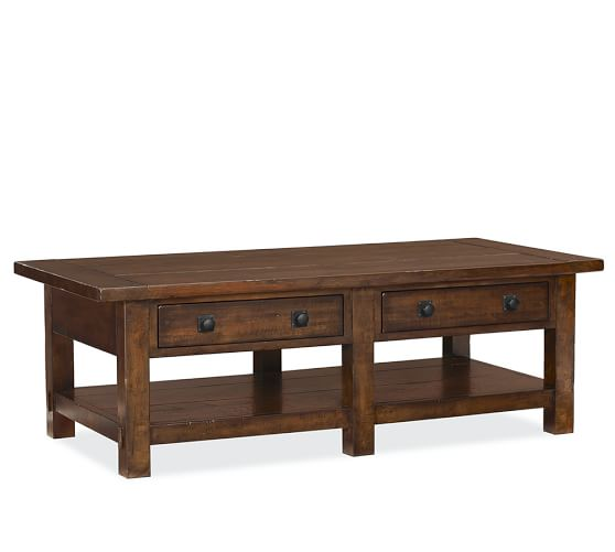 Benchwright Rectangular Coffee Table Pottery Barn
