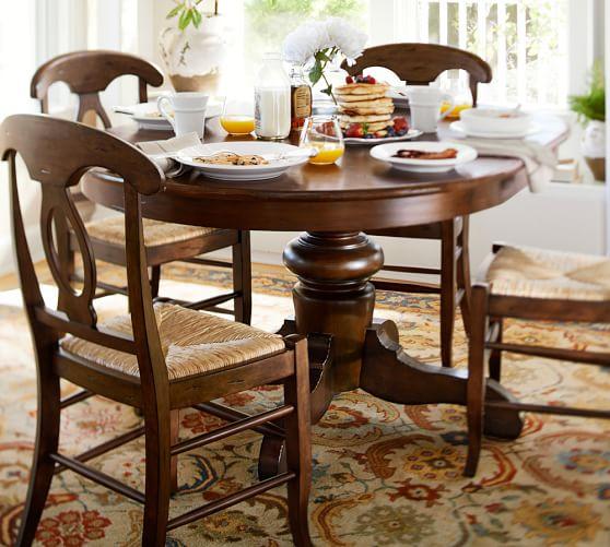 Tivoli Extending Pedestal Table Amp Napoleon Chair 5 Piece