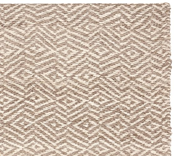 Clark Two Tone Soft Jute Rug Pottery Barn