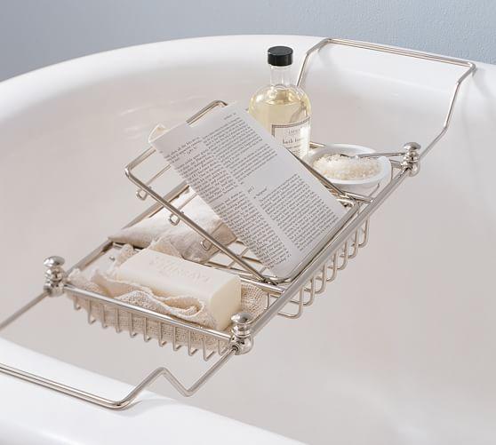 Mercer Bathtub Caddy Pottery Barn