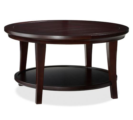 Arabescato Orobico Round Coffee Table: Metropolitan Round Coffee Table