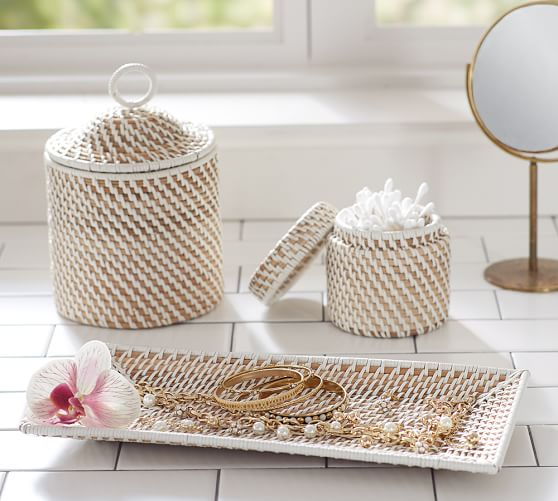 Woven Bath Accessories Pottery Barn
