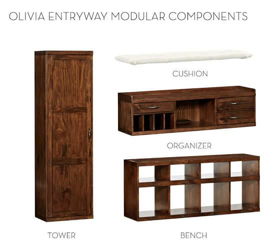 Build Your Own Olivia Modular Cabinets Pottery Barn