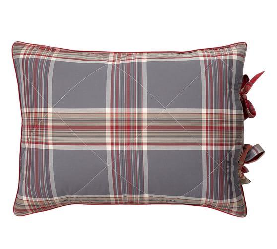 Bowman Plaid Comforter & Sham
