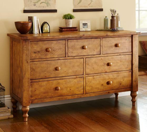 Ashby Sleigh Bed Amp Dresser Set Pottery Barn