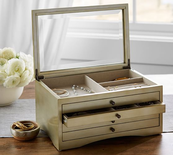 andover jewelry box pottery barn
