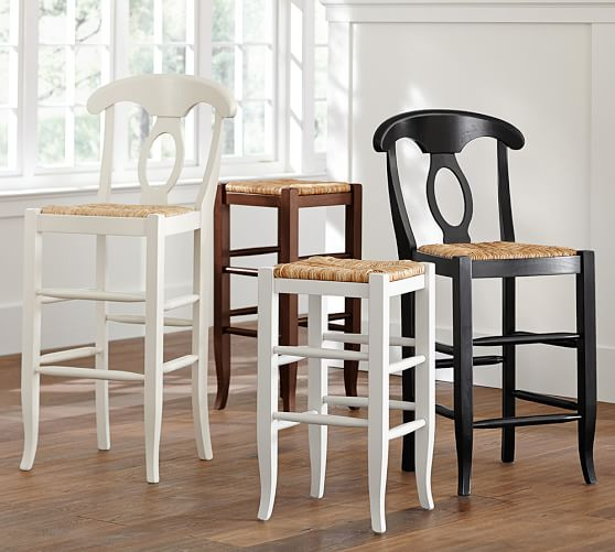 Napoleon 174 Backless Barstool Pottery Barn
