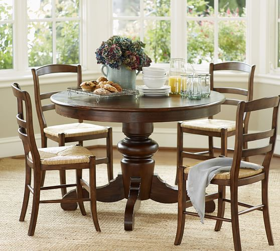 round tables tivoli fixed pedestal dining table view larger roll over image to zoom: 40 inch round pedestal dining table
