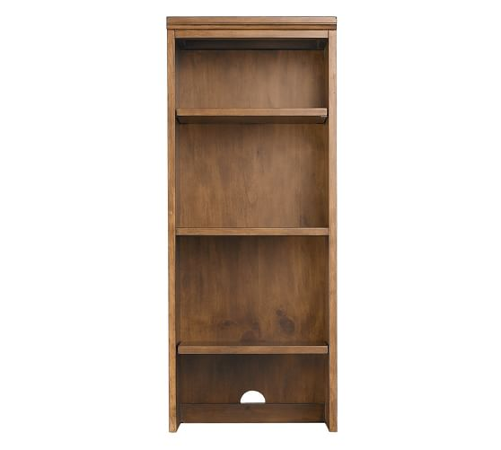 Printer's Small Bookcase Hutch, Tuscan Chestnut stain