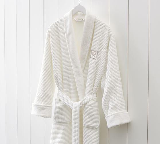 waffle weave resort robe